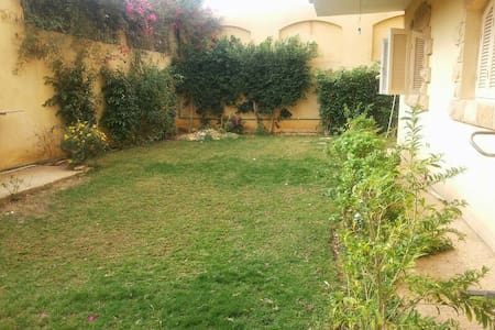 Spacious apartment with garden - 6th of October City