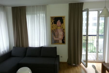 1-Zimmer Apartment in Fr. West(Messe) - Frankfurt