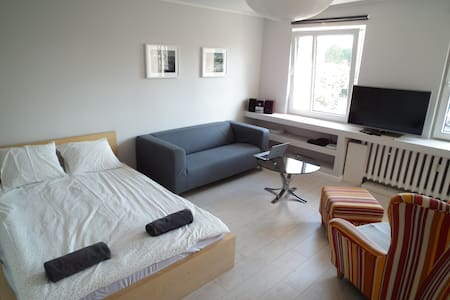 Bright and spacious flat close to the City Centre - Apartmen