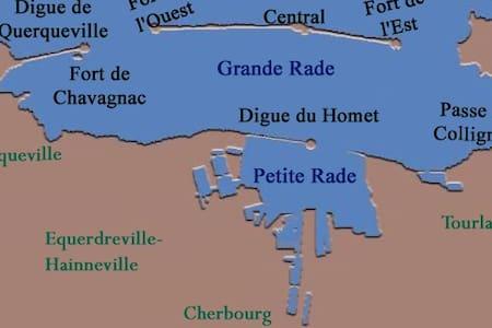 Chez Gégé - Équeurdreville-Hainneville - Wohnung
