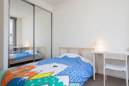 Waterside cozy bed beside Olympic - Wohnung