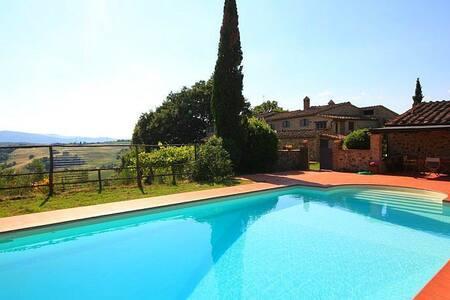 Luxury villa with private pool - Belforte - Hus