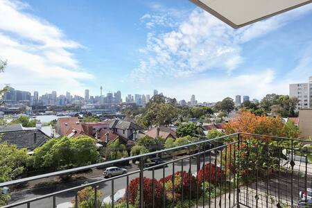Convenient, affordable and great views!! - Glebe - Apartment