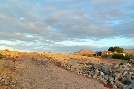 La Cabaña, sehr ruhiger Lage in Lajares - Haus