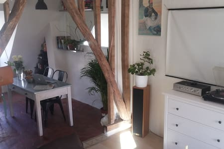 Cosy Studio, loft style in nice neighborhood - Paris