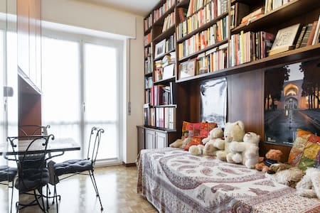 Bright room with view on the garden - Appartement