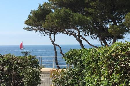 Studio 38 m2 avec jardin vue mer - Sausset-les-Pins - Wohnung