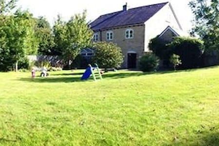 Family home, fabulous garden, country setting - Chillerton - Maison