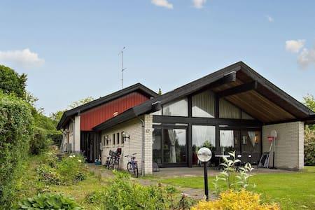 Big villa with garden. Centrally - House