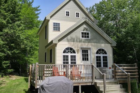Fresh New Teeny Cottage @ Crystal Clear Beech Pond - Casa