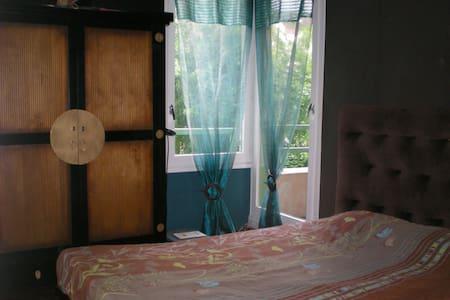 Chambre lit double (BZ) proche Disneyland et Paris - Apartmen