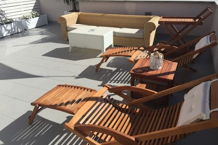 TERRACE apt deluxe and Glam - Roma - Bed & Breakfast
