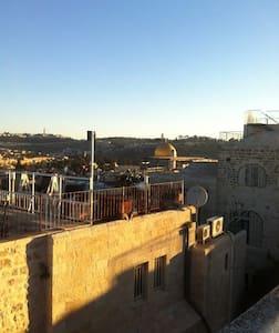 Old City Jerusalem Luxury Penthouse-Temple Mt View - Lakás