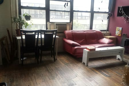 Spacious artist loft! High ceilings - Brooklyn - Loft