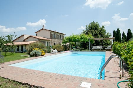 Le Pietre Country Home with pool - Viterbo - Villa