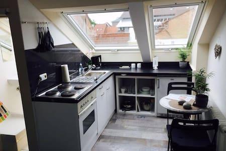 Süße Wohnung über den Dächern von Karlsruhe - Karlsruhe - Appartement