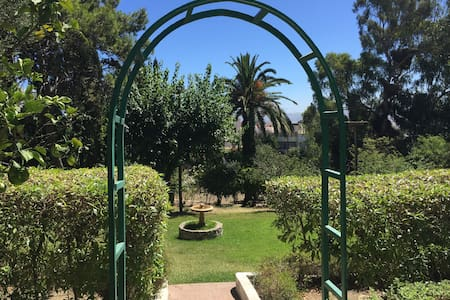 Beautiful house with huge garden - Tangier