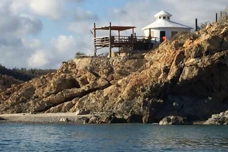 Casa Chunique, Primeras Piedras BCS - Cardonal, La Paz. - Cabin