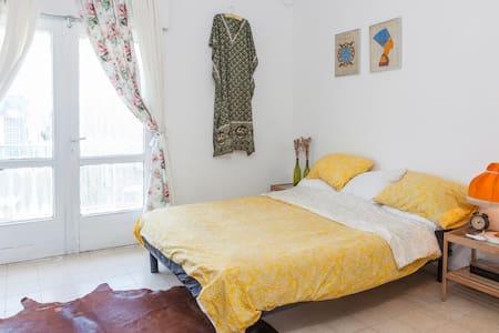 A Sunny Apartment,Central Tel-Aviv - Tel Aviv-Yafo - Appartamento