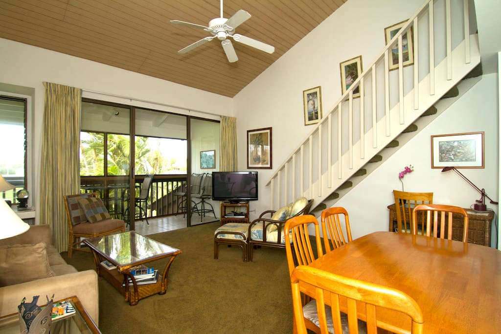 Another take of the Living room and Lanai