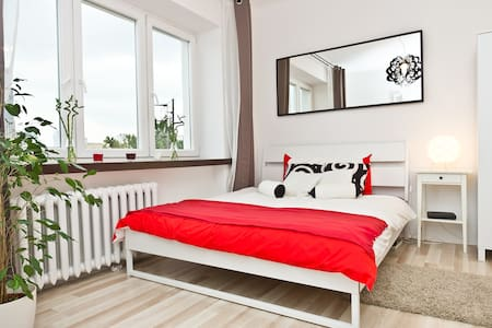 Beautiful studio near Warsaw center - Apartemen