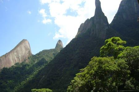 MOTHER NATURE-HOSTESS IN RIO-BRAZIL - Guapimirim - Casa