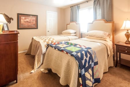 Comfy Twin Beds in Lubbock - Lubbock - House