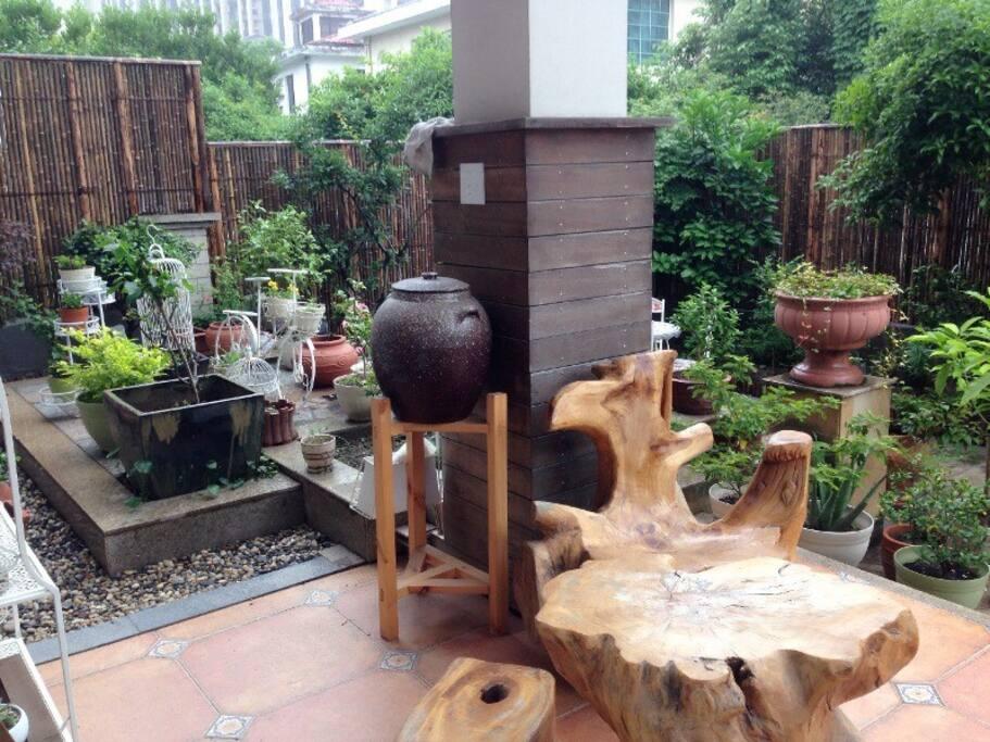 Rest Area of Garden