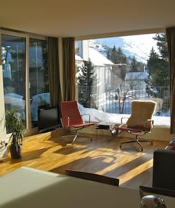 Design flat in center Andermatt - Appartement