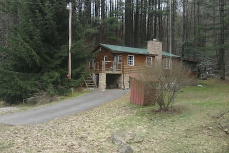 Cozy Cabin for Rafting or Skiing! - Scarbro - Cabaña