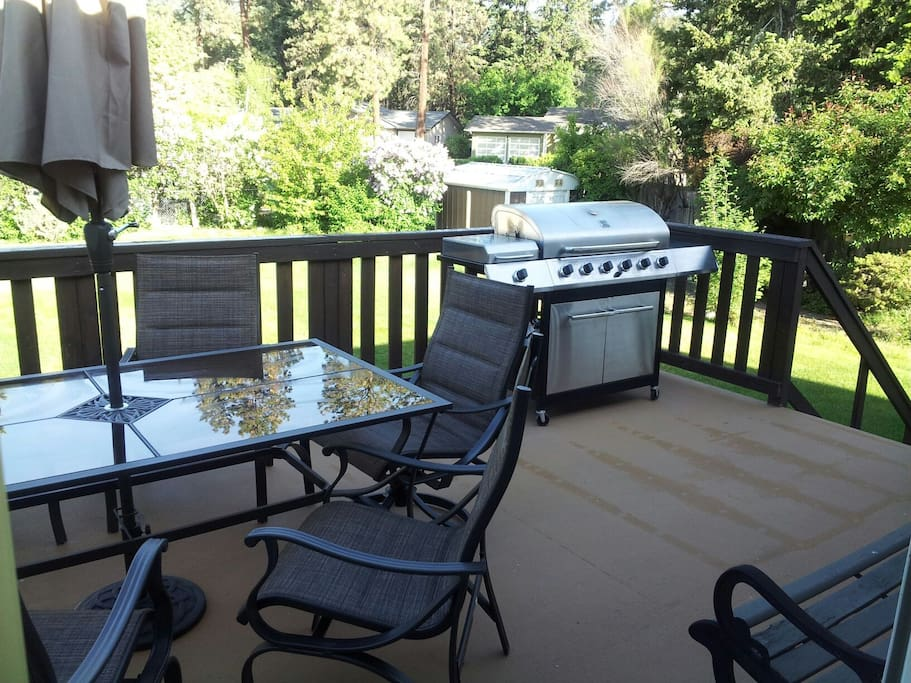 patio and bbq