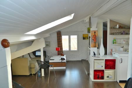 Beautiful Loft in the Port of Nice - Nice - Apartment