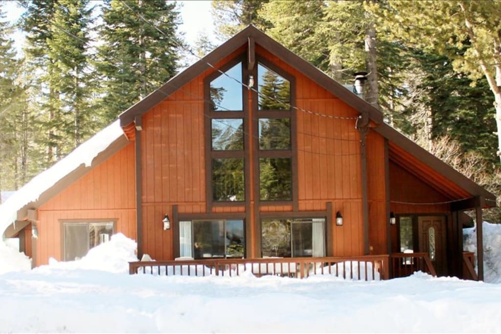 Lake Tahoe Chalet - Winter