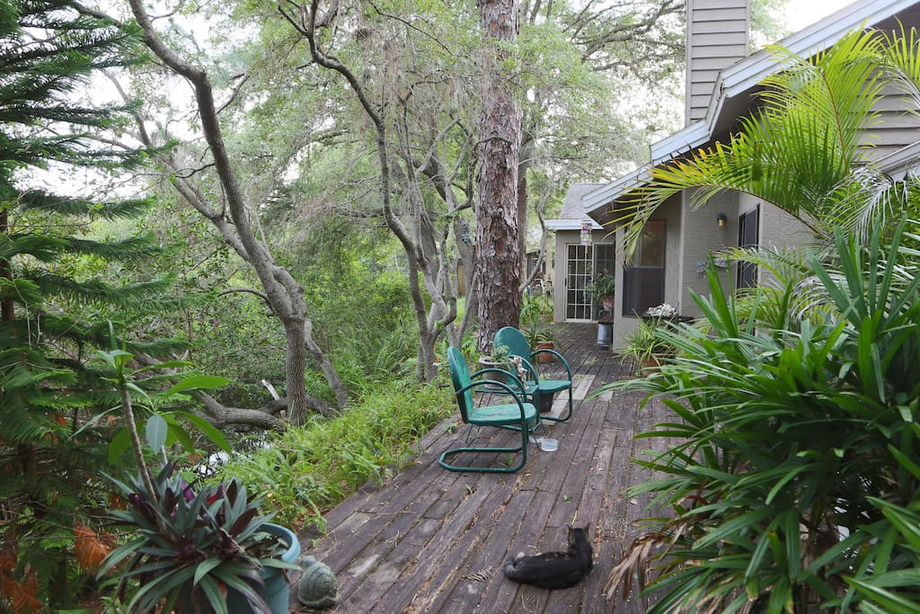 Back deck on Bayou