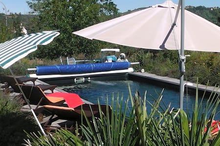Superbe villa périgourdine piscine - Le Bugue