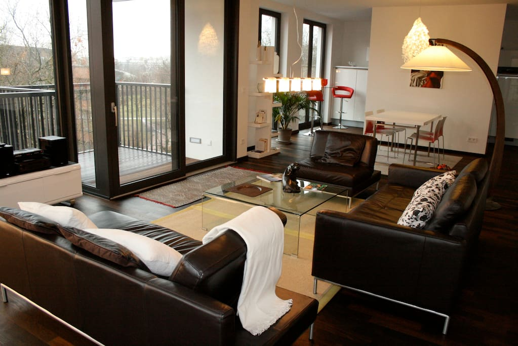 130 sqm with a view on Mauer Park