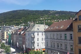 Picture of city view in the heart of Bergen