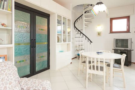 Sea view apartment in Sorrento - Wohnung