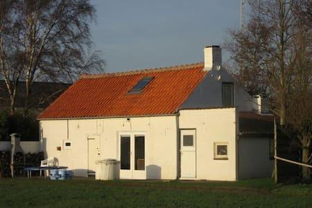 Charmant boerenhuisje bij strand - Walsoorden - Zomerhuis/Cottage