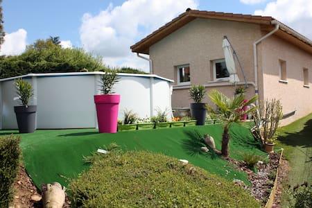 Villa avec piscine privée & billard - Revel-Tourdan