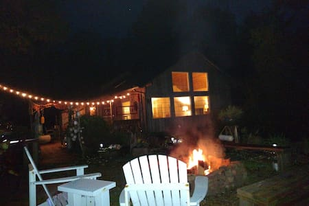 Available Fri/Sat Nov 4/5-Wood Stove/WiFi/Fire Pit - Mökki