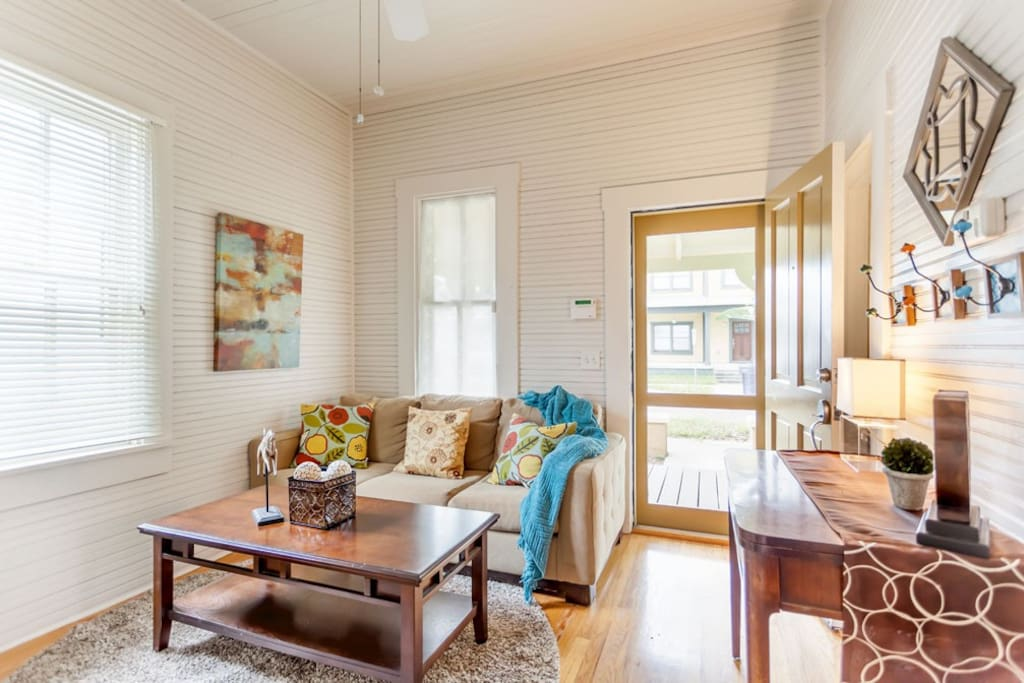 High Ceilings and Original Beadboard bring you back to yesteryear!