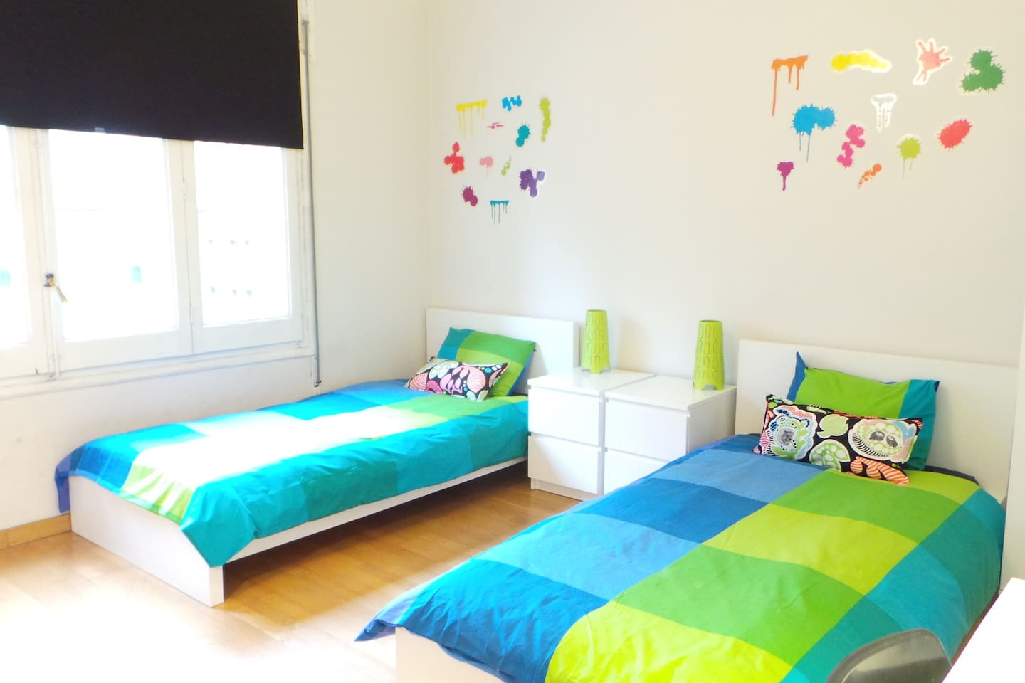Amazing huge and lightly room for 2 people!