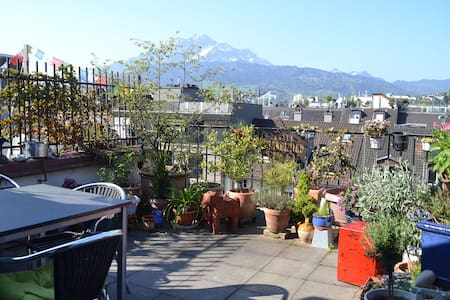 Above the rooftops of Lucerne - Lucerne - Apartment