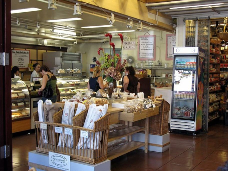Rockridge Market Hall Grocery (within walking distance)