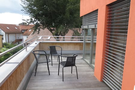 Bright apartment with rooftop terrace at the park - Apartment