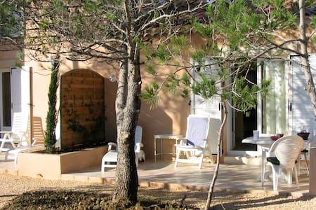 Anduze Gîte 2 p + piscine couverte - Massillargues-Attuech