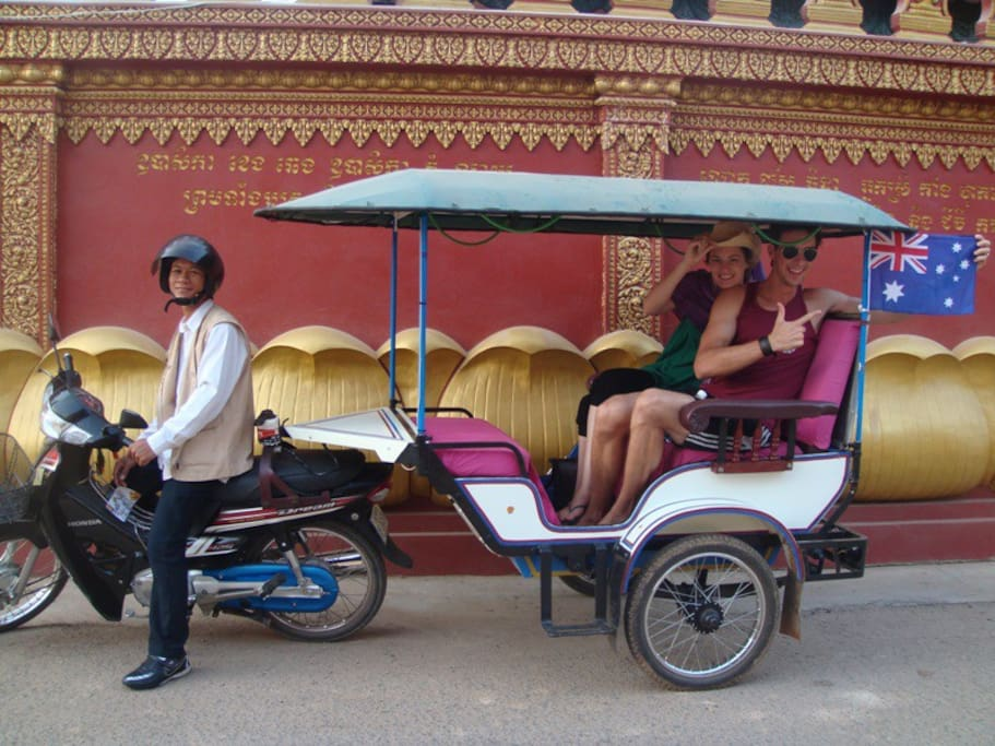 Comfortable tours to Angkor temples