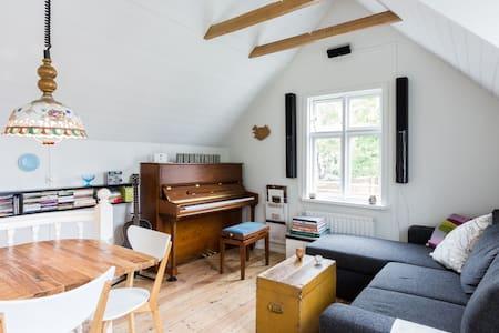 Old private house with a garden - Hafnarfjordur