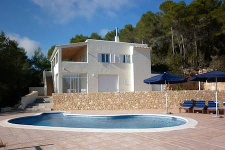 beautiful views with pool in ibiza - Sant Miquel de Balansat - Casa